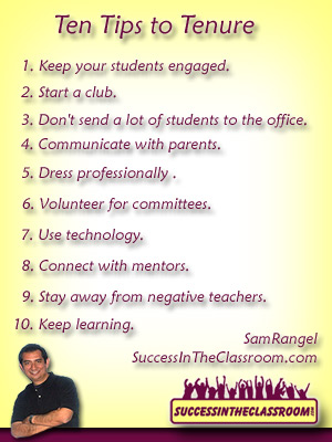 Ten Tips for Tenure – Keep that Teaching Job | Success in the ...