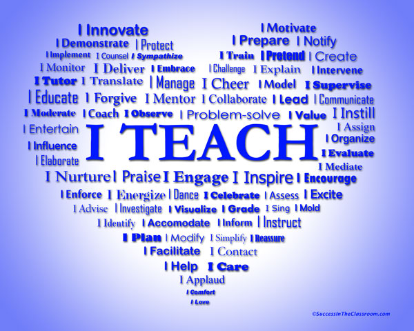 teacher graphic heart