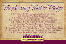 Take The Amazing Teacher Pledge