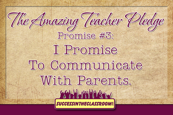 Promise #3 Parent Communication