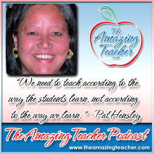 Pat Hensley AKA Loony Hiker on the Amazing Teacher  Podcast