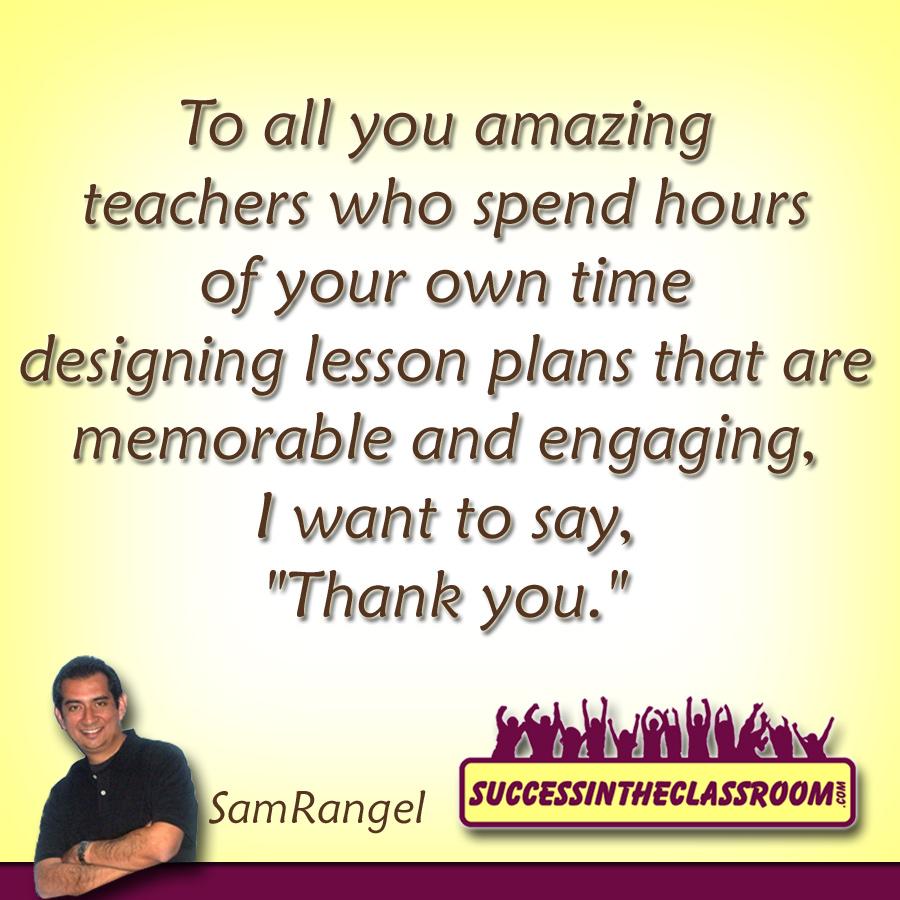 Student Thanking Teacher Quotes: Teachers, Don't Let Creativity Die